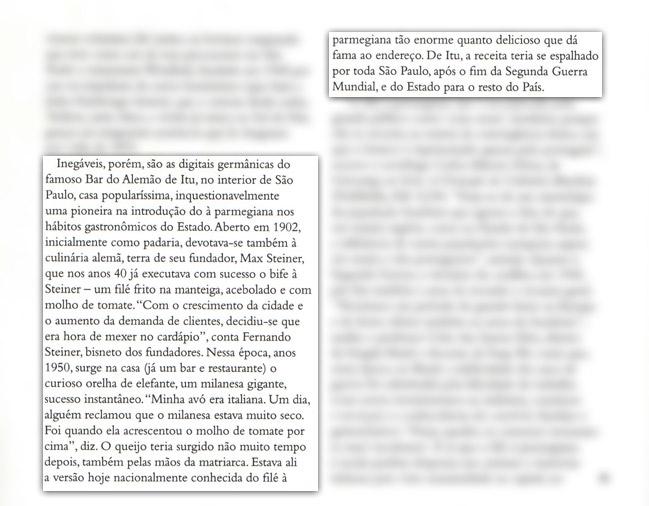 Filé a Parmegiana na Revista Gula